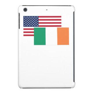 American And Irish Flag iPad Mini Cover