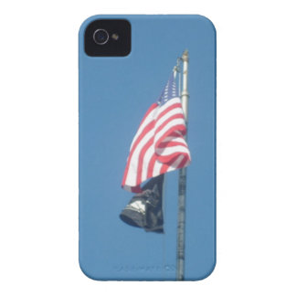 American and POW/MIA Flags iPhone 4 Case