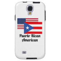 American And Puerto Rican Flag Galaxy S4 Case