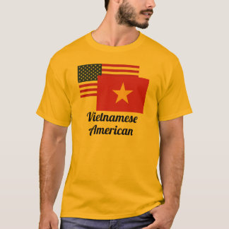 American And Vietnamese Flag T-Shirt
