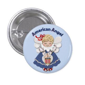 American Angel Pinback Button