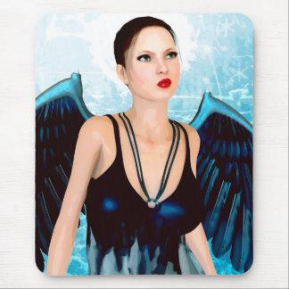 American Angel Surreal Art Mouse Pad