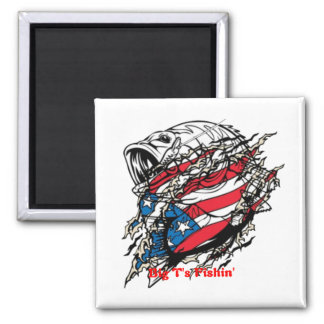 American Angler 2 Inch Square Magnet