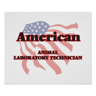 American Animal Laboratory Technician Poster