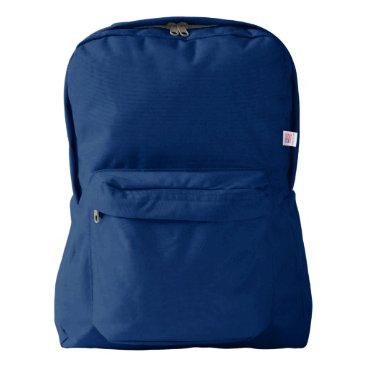 Beach Themed American Apparel™ Backpack, Navy Backpack