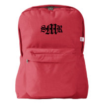 American Apparel™ Backpack (Red)