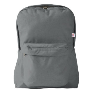 American Apparel™ Backpack, Smoke American Apparel™ Backpack