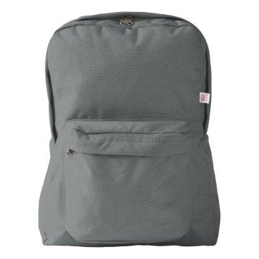 Beach Themed American Apparel™ Backpack, Smoke American Apparel™ Backpack