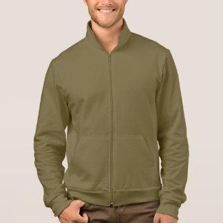 American Apparel California Fleece Zip Jogger Army Jackets