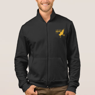 American Apparel California Fleece Zip Jogger Jacket