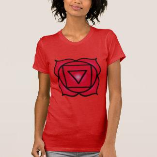 American Apparel de la raíz de Chakra de las mujer Tee Shirt