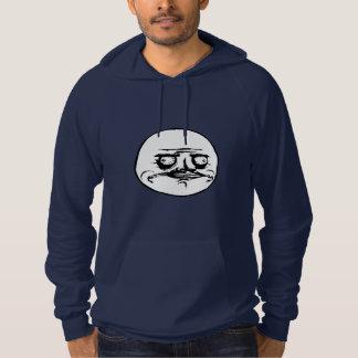 American Apparel  Fleece Pullover Me Gusta Hoodie
