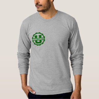 American Apparel Front & Back Logo Long Sleeve T-Shirt