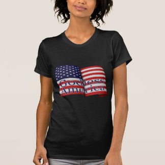 "American Apparel ""Godless America"" shirt"