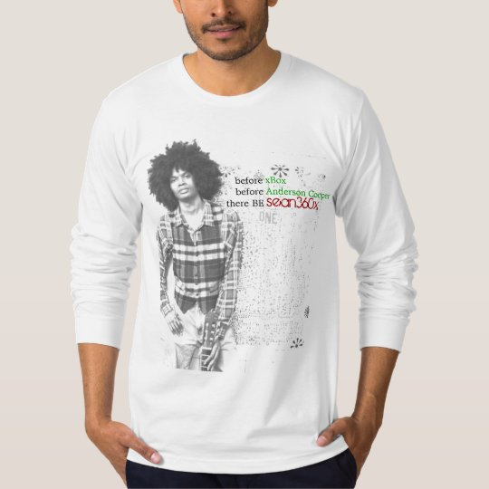 American Apparel Long Sleeve (Fitted) sean360x T-Shirt