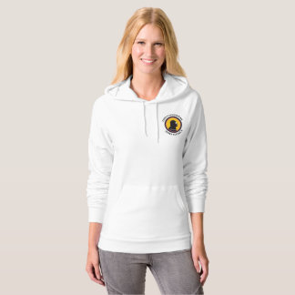 American Apparel Pullover: Science Smart Cavewoman Hoodie