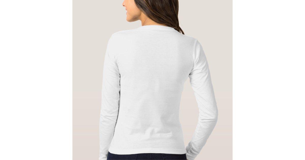 American apparel shirt in white women 39 s zazzle for American apparel design your own shirt