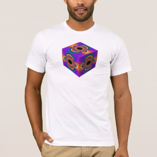 American Apparel T-Shirt with Unique Art