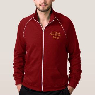 American Appearl Fleese Jacket Cranberry white