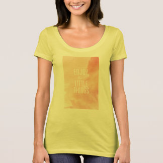 American Apperal Poly-Cotton Scoop Neck T-Shirt