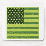 American Apple Flag Mouse Pad