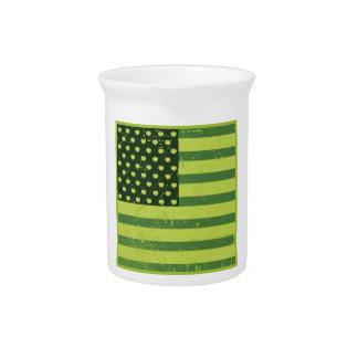 American Apple Flag Pitchers