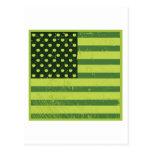 American Apple Flag Postcard