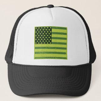 American Apple Flag Trucker Hat