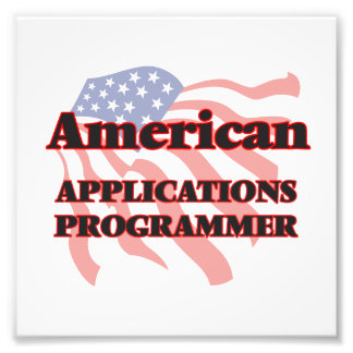 American Applications Programmer Photo Print
