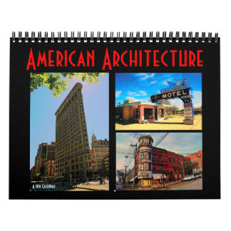 American Architecture 2011 Calendar