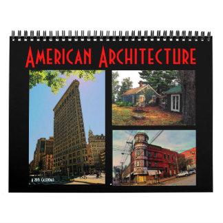 American Architecture 2015 Calendar