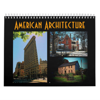 American Architecture Calendar - Customized