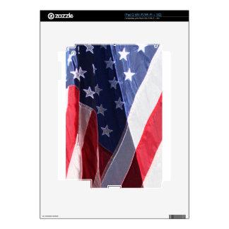 American Art Flag Skin For iPad 2