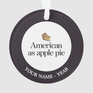 American as Apple Pie