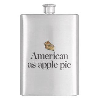 American as Apple Pie Flask