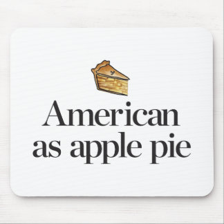 American as Apple Pie Mouse Pad