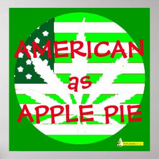 AMERICAN AS APPLE PIE POSTER