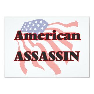 American Assassin 5x7 Paper Invitation Card