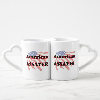 American Assayer Couples' Coffee Mug Set