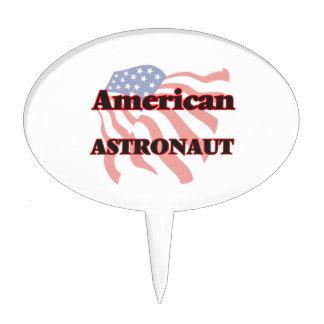 American Astronaut Cake Picks