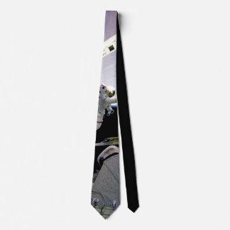 American astronaut neck tie