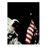 American Astronaut Postcard