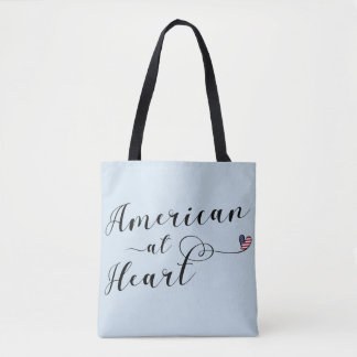 American At Heart Grocery Bag