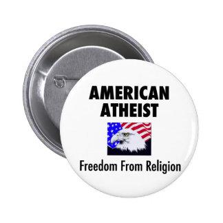 American Atheist Button