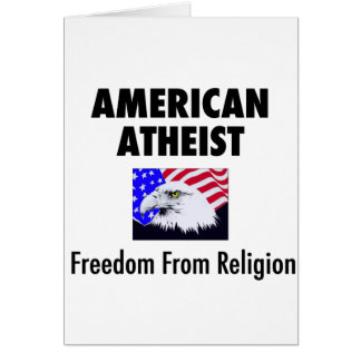 American Atheist Card