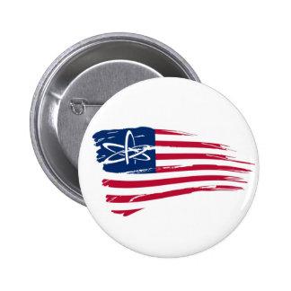 American Atheist Pinback Button