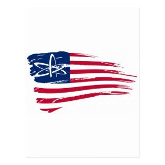 American Atheist Postcard