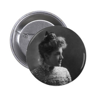 American Author and Poet Ella Wheeler Wilcox Buttons