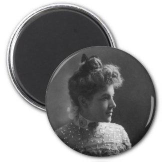 American Author and Poet Ella Wheeler Wilcox Magnet