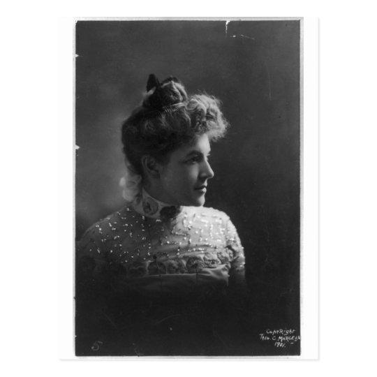 American Author and Poet Ella Wheeler Wilcox Postcard
